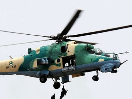 Nigeria Air Force Helicopter Crashes