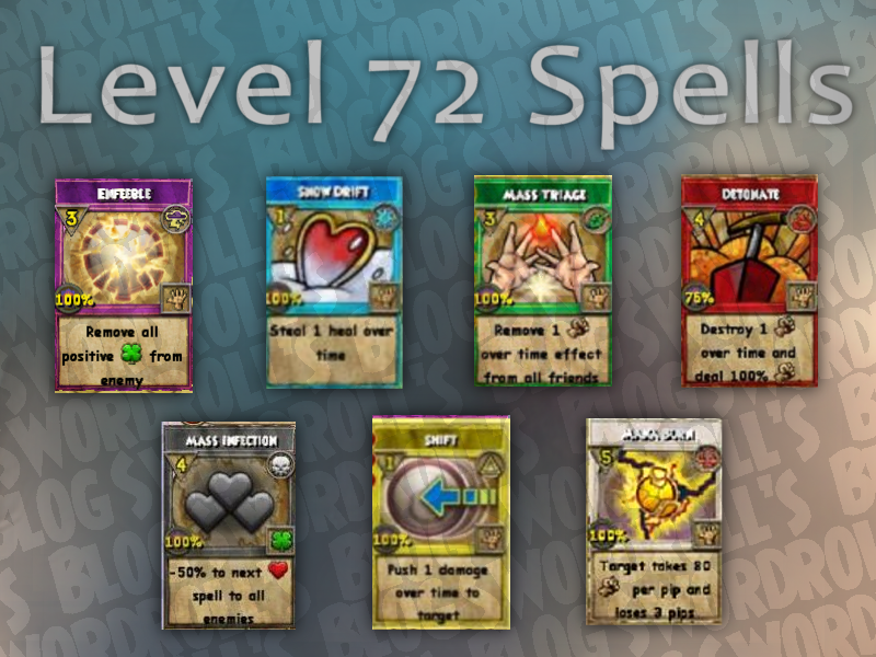 A Look at New Avalon Spells (Levels 70, 72, 75, 80