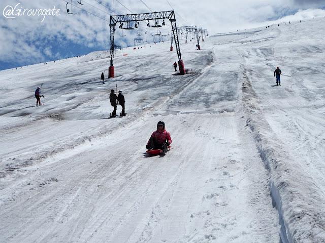 Les deux Alpes slittino