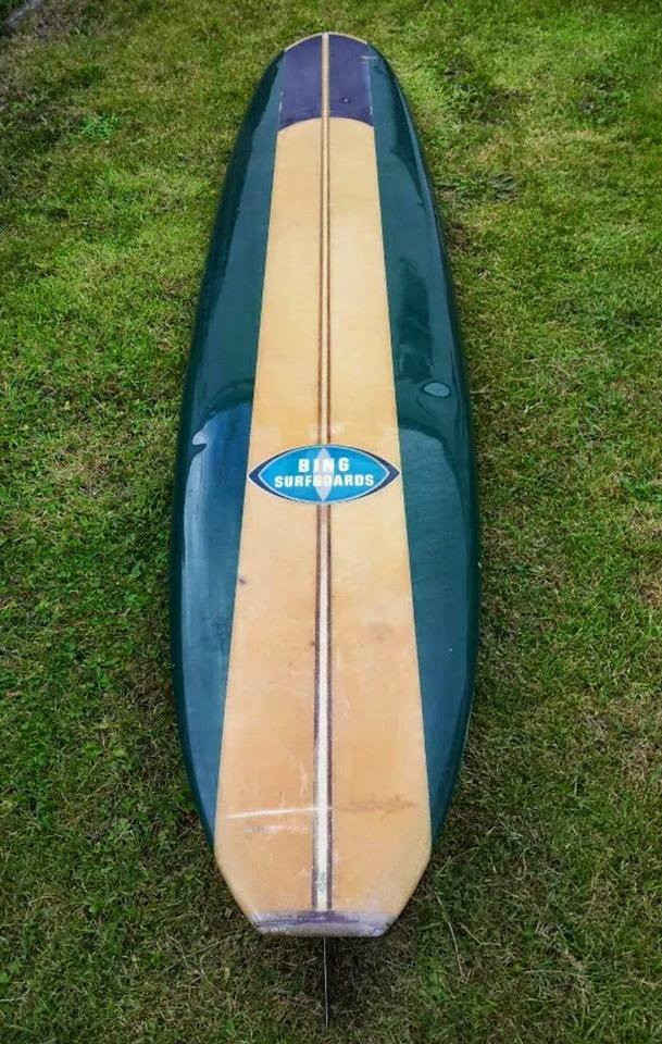 Vintage Surfboard Collector Uk 1965 Bing Longboard For Sale