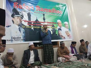 PC NU Lobar Gelar Safari Ramadhan di Desa Taman Ayu