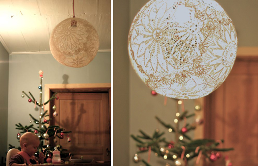 Diy Doily Lamp For Bedroom Home Lilys Design Ideas