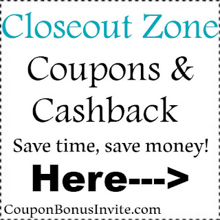 Save 10% at CloseoutZone.com with coupon code for 2018-2019| Feb, March, April, May, June, July, Aug, Sep, Oct, Nov, Dec