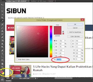 Mengganti Warna Template, Tutorial Edit Warna Tema, Mempercantik Template, situs buntu