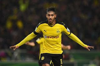 Manchester United willing to offer for Aubameyang 90 million Euros
