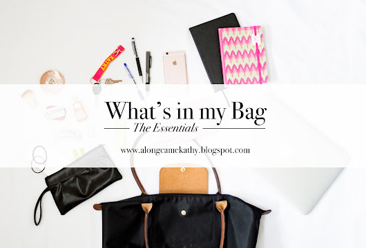 alongcamekathy: What's in my Bag - University