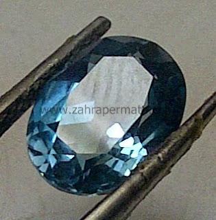 Batu Permata Blue Topaz - ZP 446