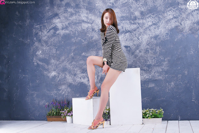 1 Lee Gyu Ri - Nice Legs-very cute asian girl-girlcute4u.blogspot.com
