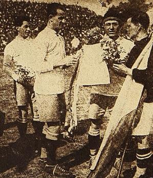 Uruguay y Chile en Campeonato Sudamericano de 1924