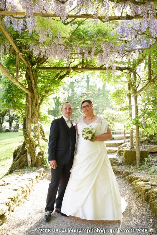 photos de couple portraits mariés parc oriental de Maulévrier