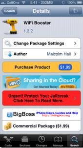 Wifi Booster iPhone