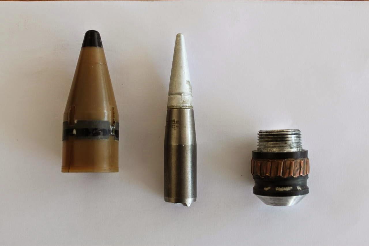 Apologise, but, 25mm ammunition penetration even