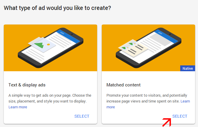 Ab-Har-Blogger-Matched-Content-Ads-Use-Kar-Sakta-Hai