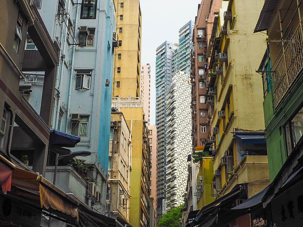 Skyscrapers in Sheung Wan, Hong Kong