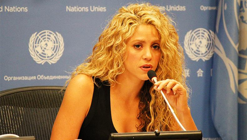 Shakira doa 15 milhões de dólares para a reconstrução do Haiti após desastre natural