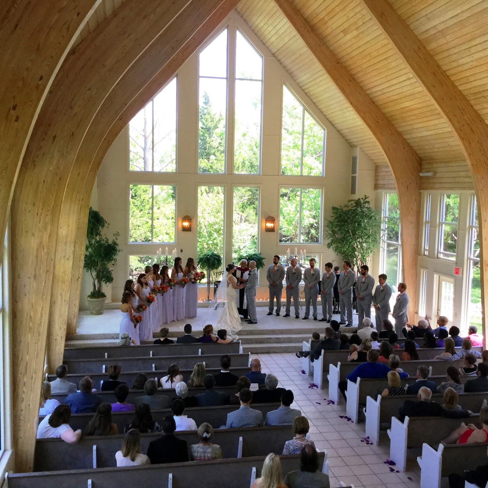 Preacher Wedding Altar: Walnut Creek Chapel: Christina Gustas & Warren Cunningham