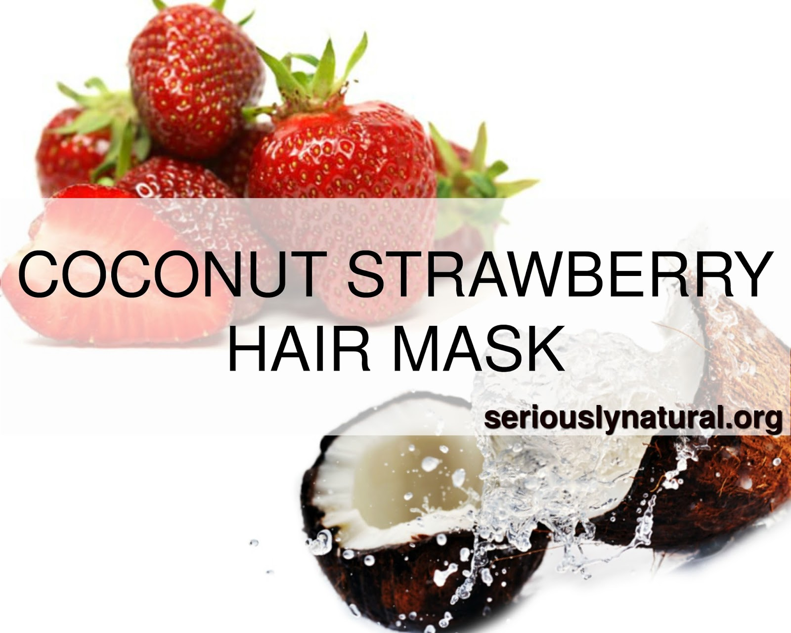 Coconut mask for your natural hair will take it's health to the next level. We've got three recipes that are easy to make and fun to try.