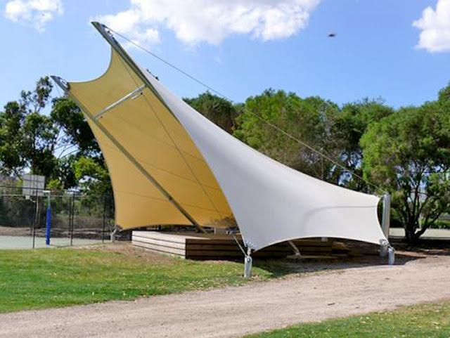 tenda tarik canopy
