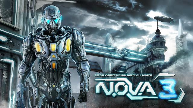N.O.V.A. 3: Freedom Edition v1.0.1d Mod APK + Data