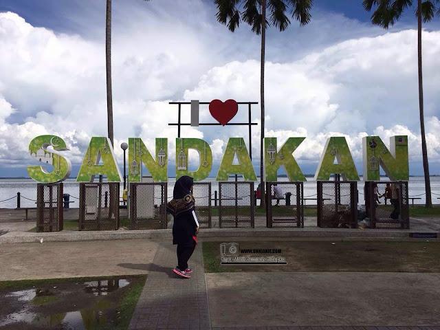 Jalan-jalan Sandakan Sabah