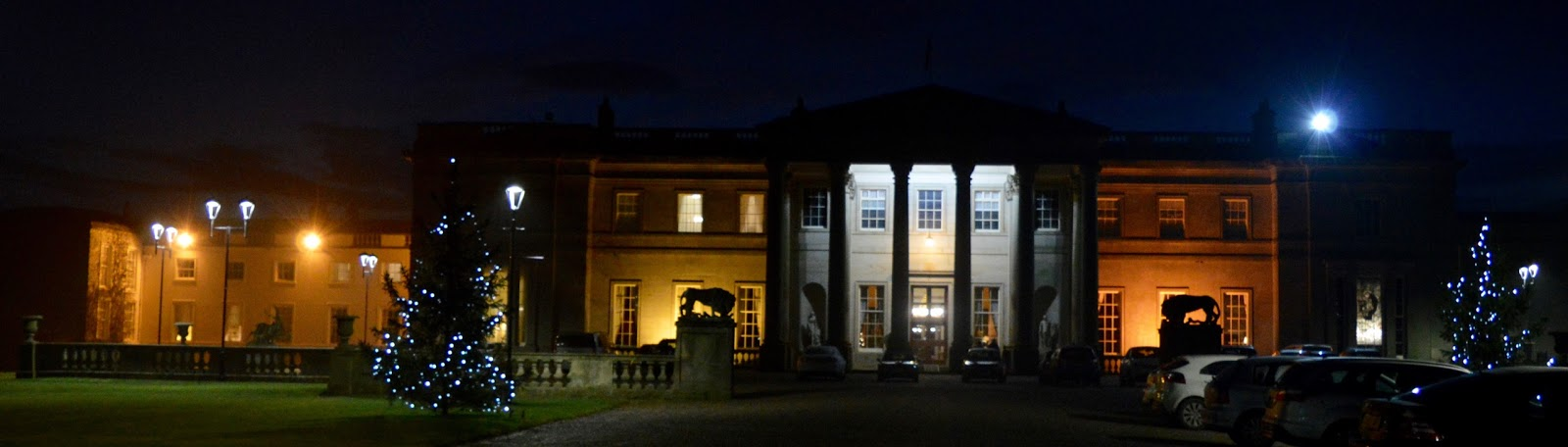 Afternoon tea at Wynyard Hall (with kids) - A Review - Wynyard Hall at Night