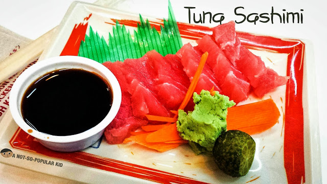 Tuna Sashimi of Karate Kid