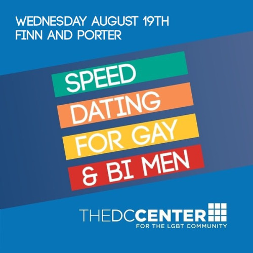 Gay speed dating dc