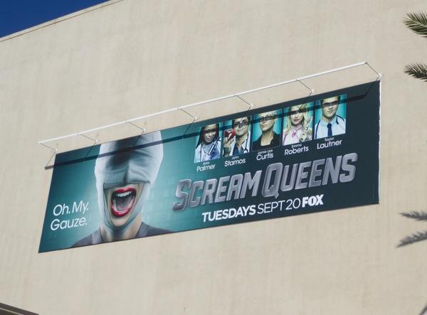 Scream Queens season 2 billboard