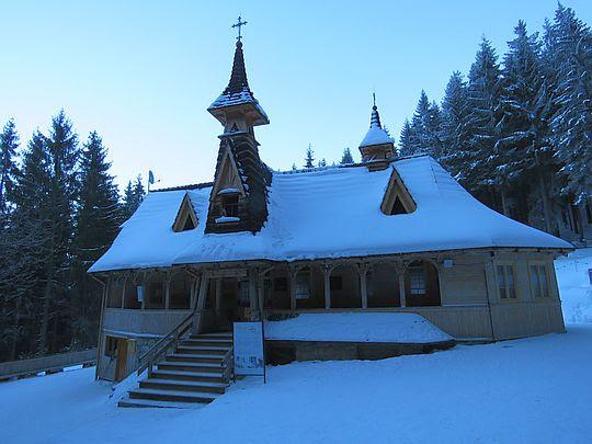 Kaplica na Wiktorówkach.