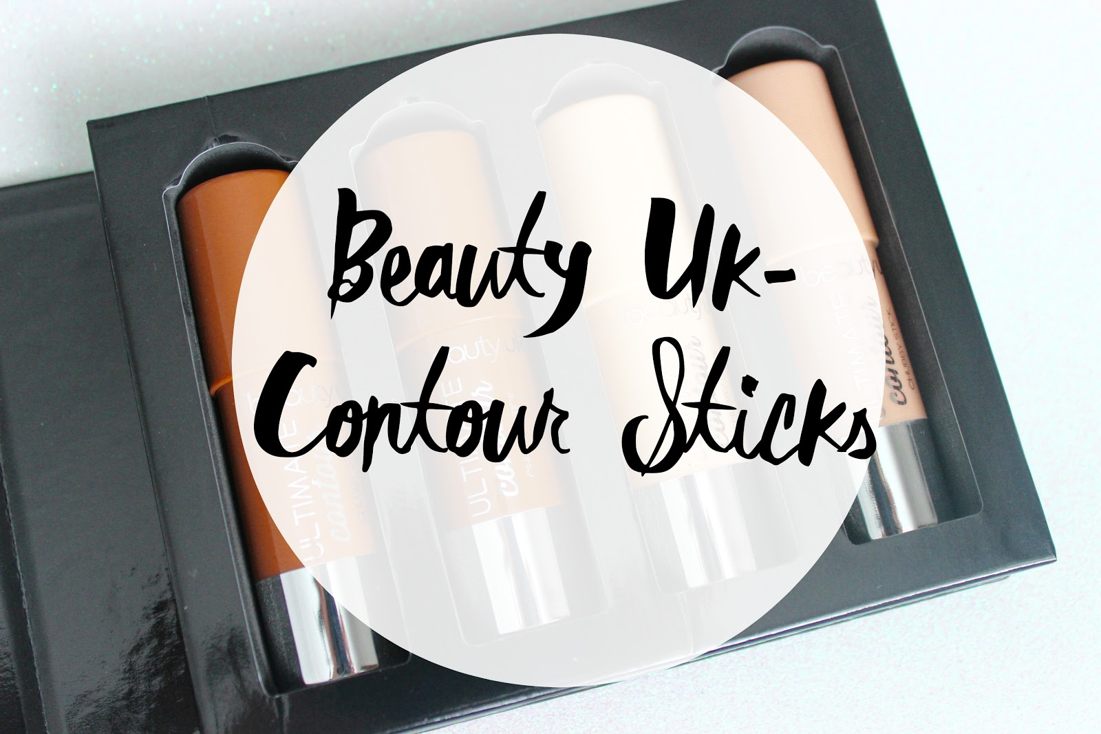 beautyuk, contour sticks, chubby sticks, medium contour, dark contour, shimmer highlight, beige highlight