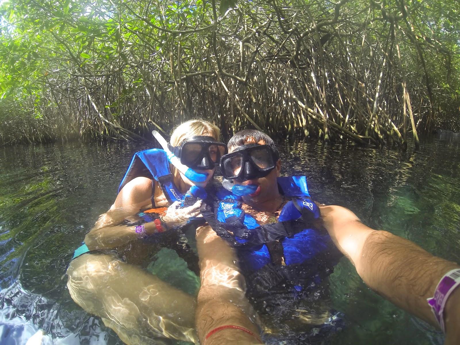 snorkelling xel-ha