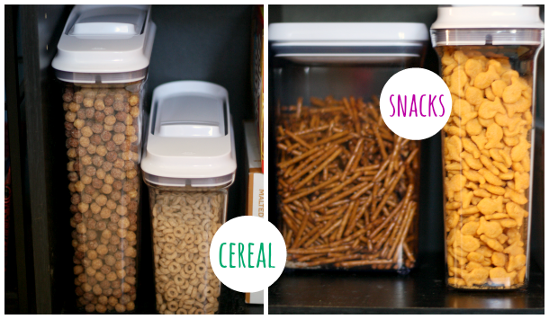 OXO POP Containers - commence Mission Organize Pantry for POPtober