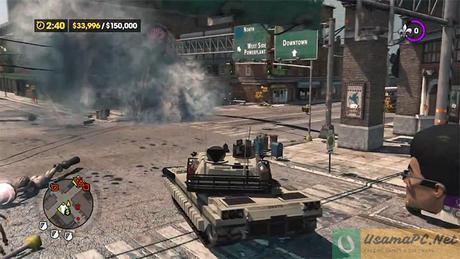 Saints Row 3 Gameplay Mayhem