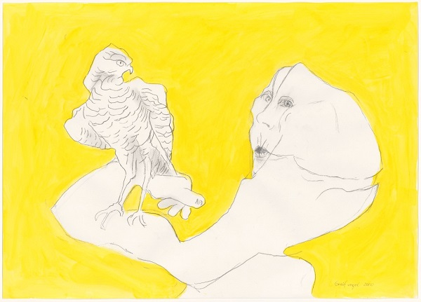 Maria Lassnig - Bird of Prey, 2000