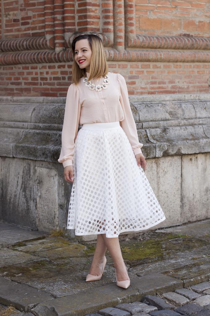 midi skirt vision on fashion