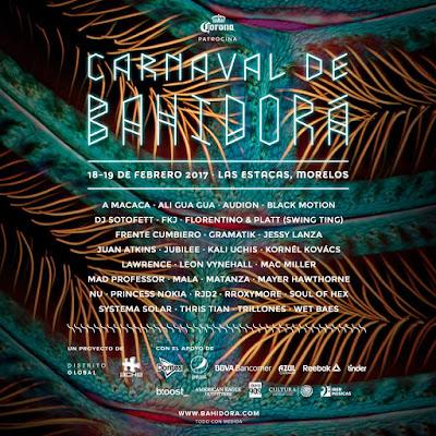 artistas festival bahidora 2017