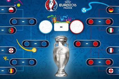 Jadwal Euro Babak 16 Besar Juni 2016