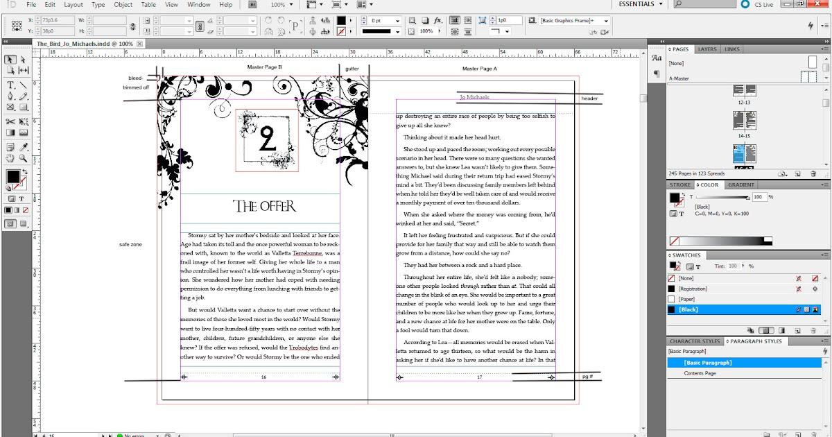 Jo Michaels Blog: MS Word vs Adobe InDesign