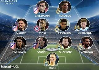 تشكيل ريال مدريد واليوفنتوس اليوم فى مباراة نهائى دورى أبطال أوروبا 2017
