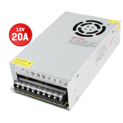 Power AC-220V to DC-12V 10A