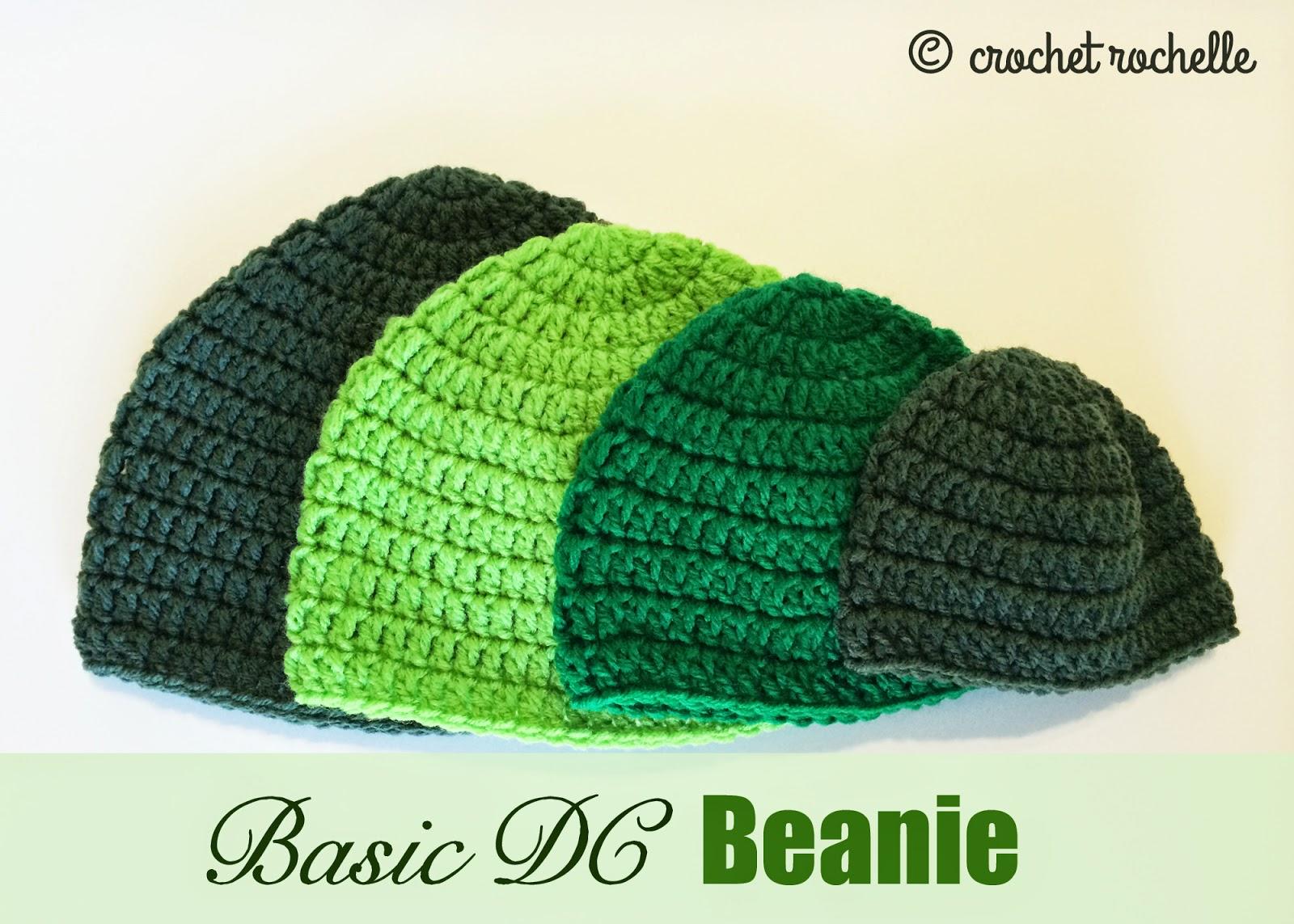 e0ba61eaf How To Crochet A Simple Beanie