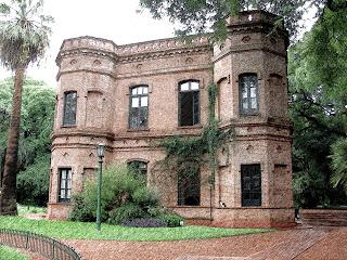 Edifício Central do Jardim Botânico, em Buenos Aires