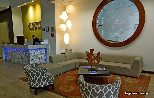 Recepção do Best Western Plus Panama Zen Hotel, Cidade do Panamá