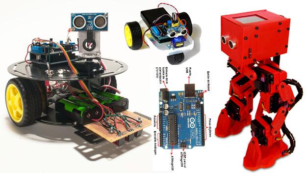 Cinco increíbles robots que puedes construir con arduino