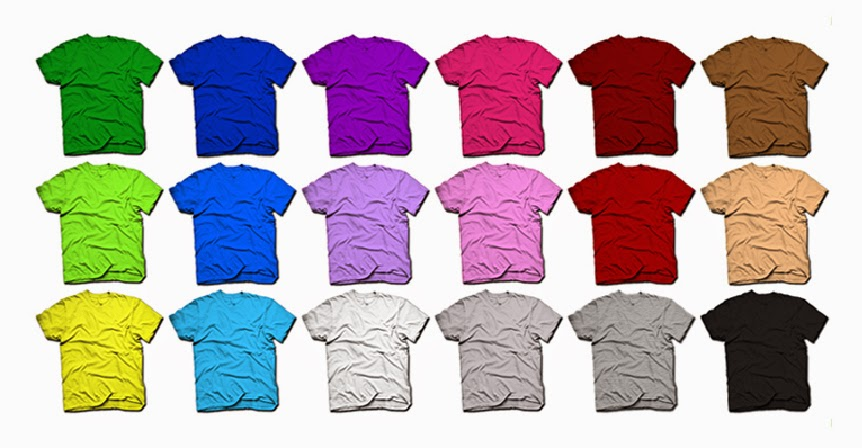 Cara Memadukan Warna Kaos Dengan Sablon Yang Tepat