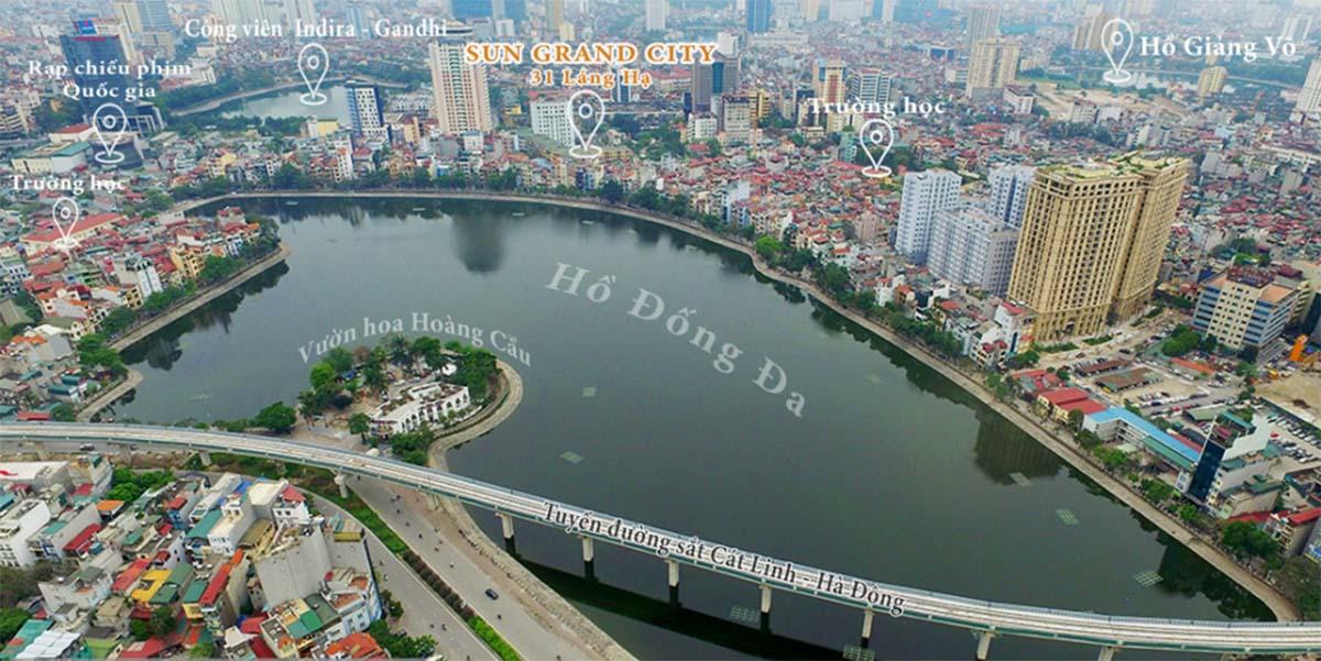 Dự án Sun Grand City 31 Láng Hạ