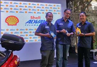Shell Luncurkan Oli Untuk Motor Matic
