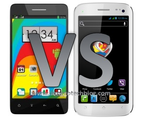 MyPhone A919 Duo versus O+ 8.9 Android