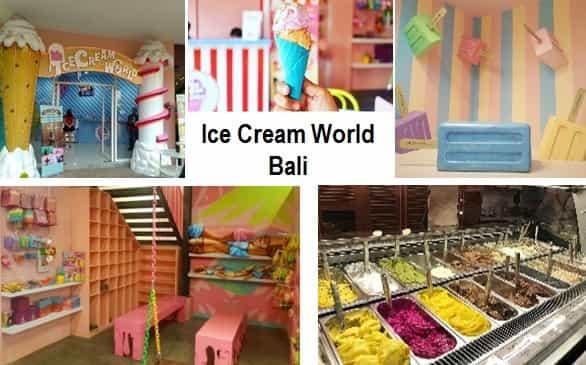 Ice Cream World Objek Wisata Bali yang instagramable dan kekinian