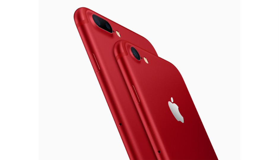 Red iPhone 8
